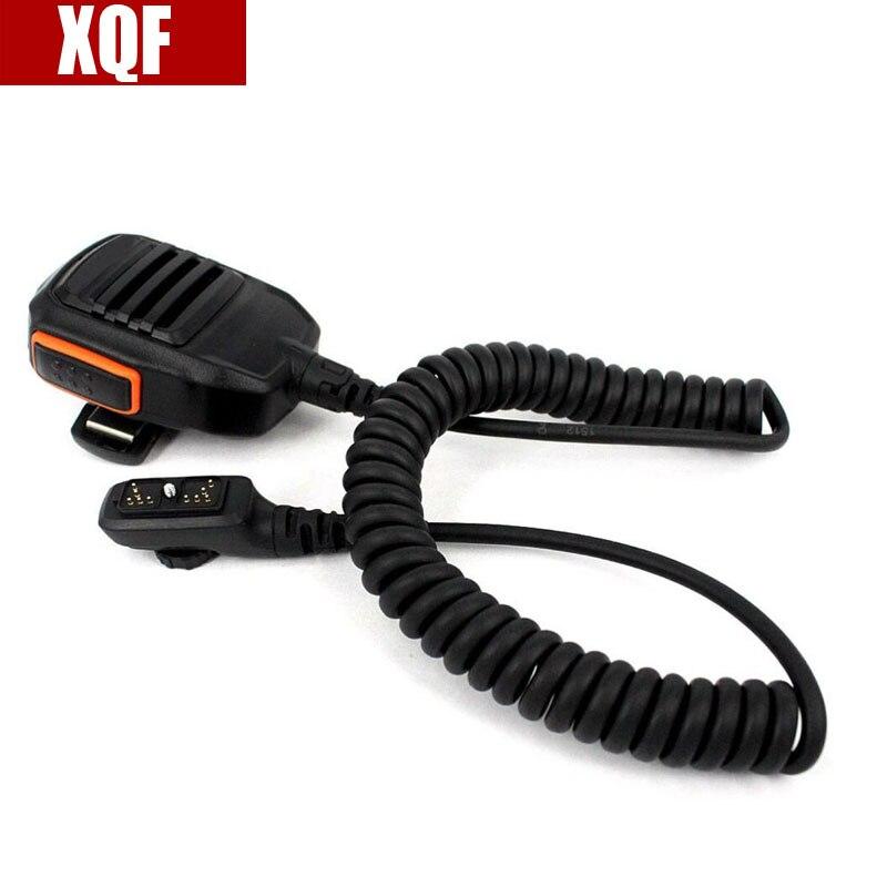 XQF haut-parleur Microphone pour HYTERA Radios PD700 PD782G PD780G PT-580 radio bidirectionnelle