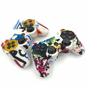 Image 3 - Камуфляжные силиконовые гелевые резиновые мягкие чехлы для контроллеров Playstation 3 PS3