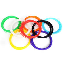 2016 Best Promotion 20pack 5m ABS Filament 1.75mm For 3D Printer Printing Drawing Pen 100m Long 20 colours *5M Wholesale price