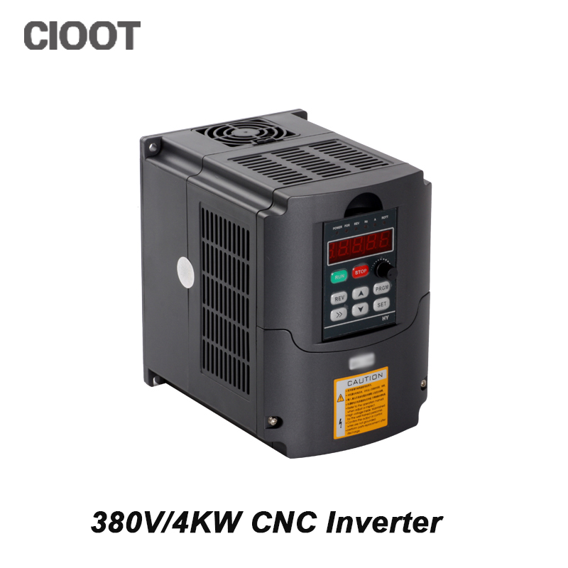 2017 Sale Grid Tie Solar Inverter 380v 4kw Vfd Variable Frequency Drive Inverter 3hp Input Output Spindle Motor Speed Control 2017 direct selling limited inverter grid tie 3kw 220v ac variable frequency drive vfd inverter for 3 0kw spindle 3000w