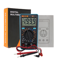 M1 Auto Digital-Multimeter Hintergrundbeleuchtung AC/DC Amperemeter Voltmeter Ohm Tragbare Meter spannung Transistor Test multi meter