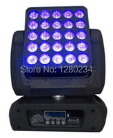 High power 25 eyes 12W RGBW 4 in 1 LED matrix moving head wash stage light for dj bar disco 5x5 blinder light from china market