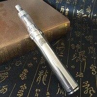 Super smoke K100 mechanical electronic cigarette with J7 1.2 ohm atomizer electronic cigarette Vaping Kit Vs iJust 2 Kit