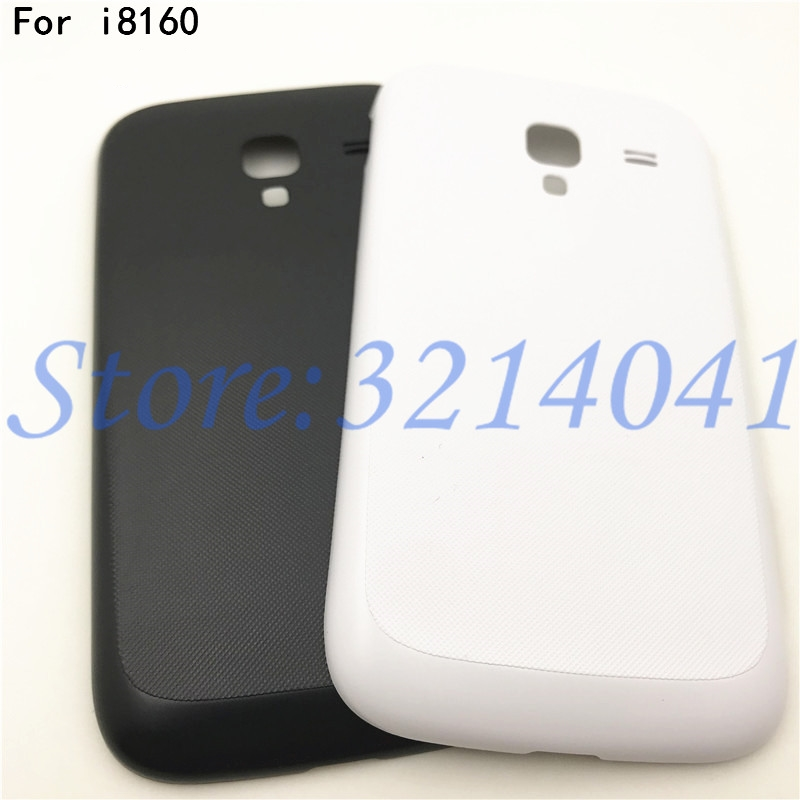 Top Quality For Samsung Galaxy Ace 2 GT I8160 Battery Back Cover Rear Case For Samsung I8160 Door Housing+Logo