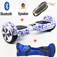 New Color 6 5 Inch Hoverboard Two Wheels Self Balance Scooter Hover Board With Bluetooth Bag
