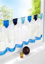 Multicolor mesa de cocina de hilo Medio-cortinas, romano un pequeño café tul, decoración corto cortina de puerta