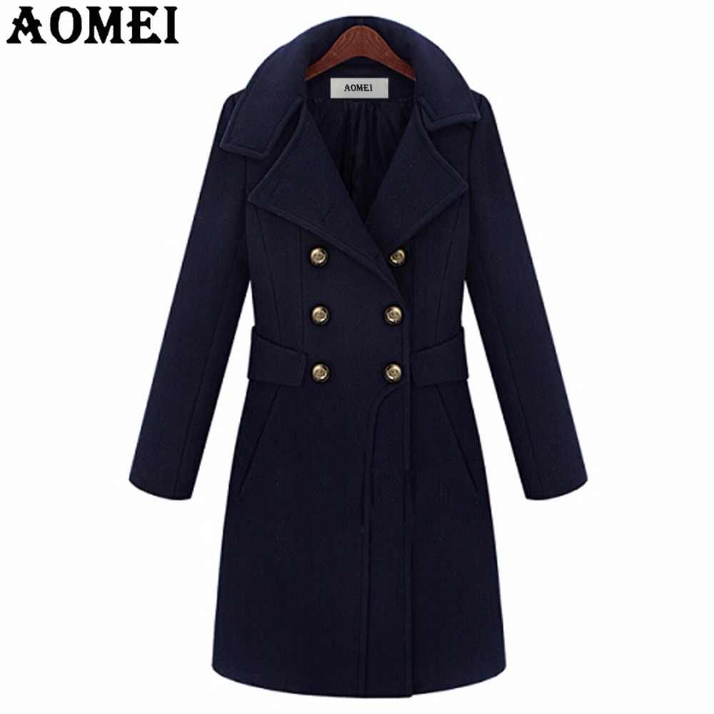 44e0f569b 2019 Winter Europe America Style High Quality Ladies Long Coat ...