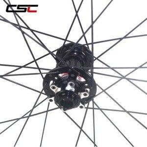 Image 4 - 29 MTB Ruote 29er Mountain Bike Wheelset 30 millimetri di Larghezza 25 millimetri Tubeless Gara XC Hookless 29 Inch MTB Ruote