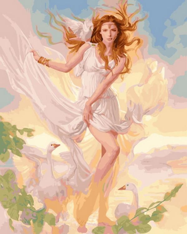 aphrodite goddess painting - 564×737