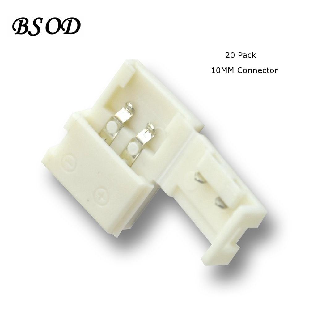 Bsod 10mm 2 Conducteurs Rapide Splitter Led Bande Connecteur Ic 78141 La78141 Asli 7pin Pour Une Seule Couleur 5050 Lumires