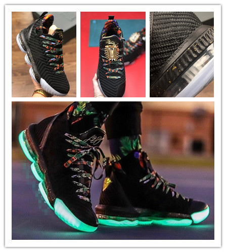 XVILEBRON XVI LeBron 16 Watch The Throne SIZE US7-US12(China)