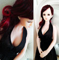 Athemis Love Dolls Clothing sexy black dress sex doll outfit without stain high quality custom made size