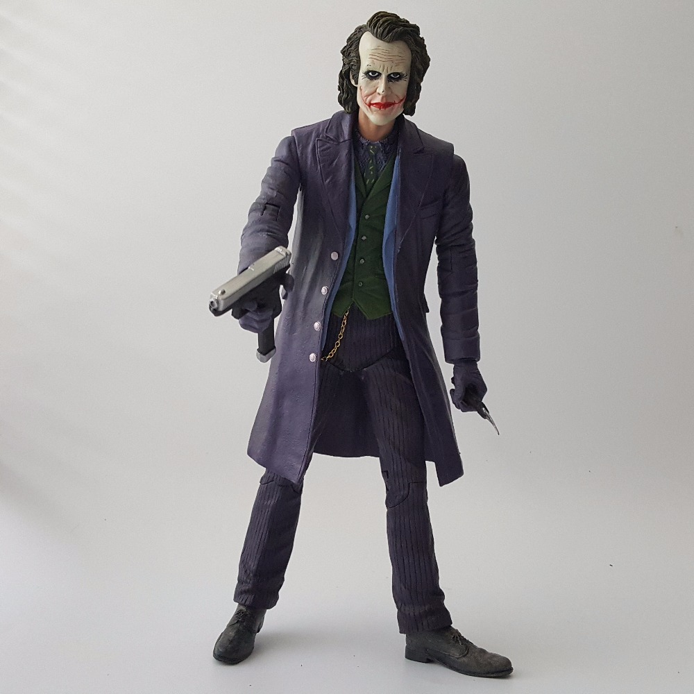 Batman Action Figure The Joker PVC Anime Movie Suicide Squad Collectible Model Toy The Dark Knight Batman Joker 260mm neca superman batman the joker pvc action figure collectible model toy 7 18cm 3 styles free shipping