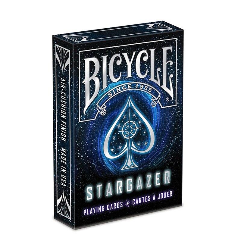 Bicicleta Stargazer cubierta Poker tamaño estándar naipes magia accesorios magia de cerca magia trucos para profesionales 81384