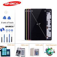 Sinbeda LCD for SONY Xperia Z1 Compact Display Touch Screen with Frame For SONY Xperia Z1 Compact LCD Display Mini D5503 M51W