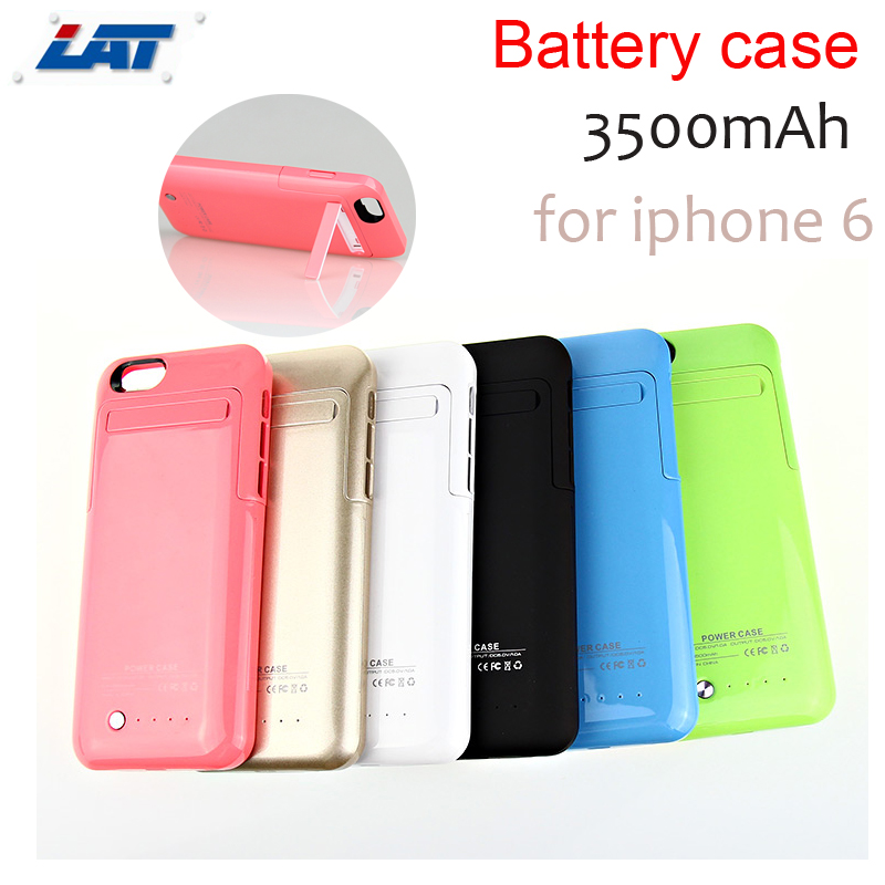 3500mAh Rechargeable External Backup Battery Case for iPhone 6 6s Mobile Phone Charging Case for iPhone