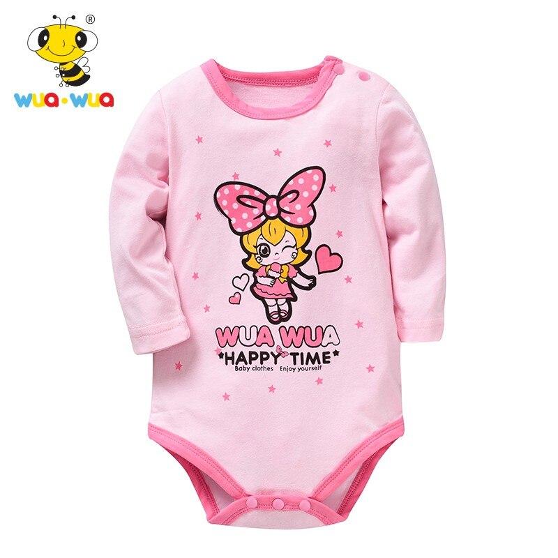 Newborn Baby Romper Summer Cotton Triangle Rompe Baby Full Sleeve Cottom O-Neck 0-24M Novel Newborn Girls Children Costume