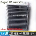automotive air conditioning evaporator core body size:245*205*60mm car ac repair parts FOR old 307