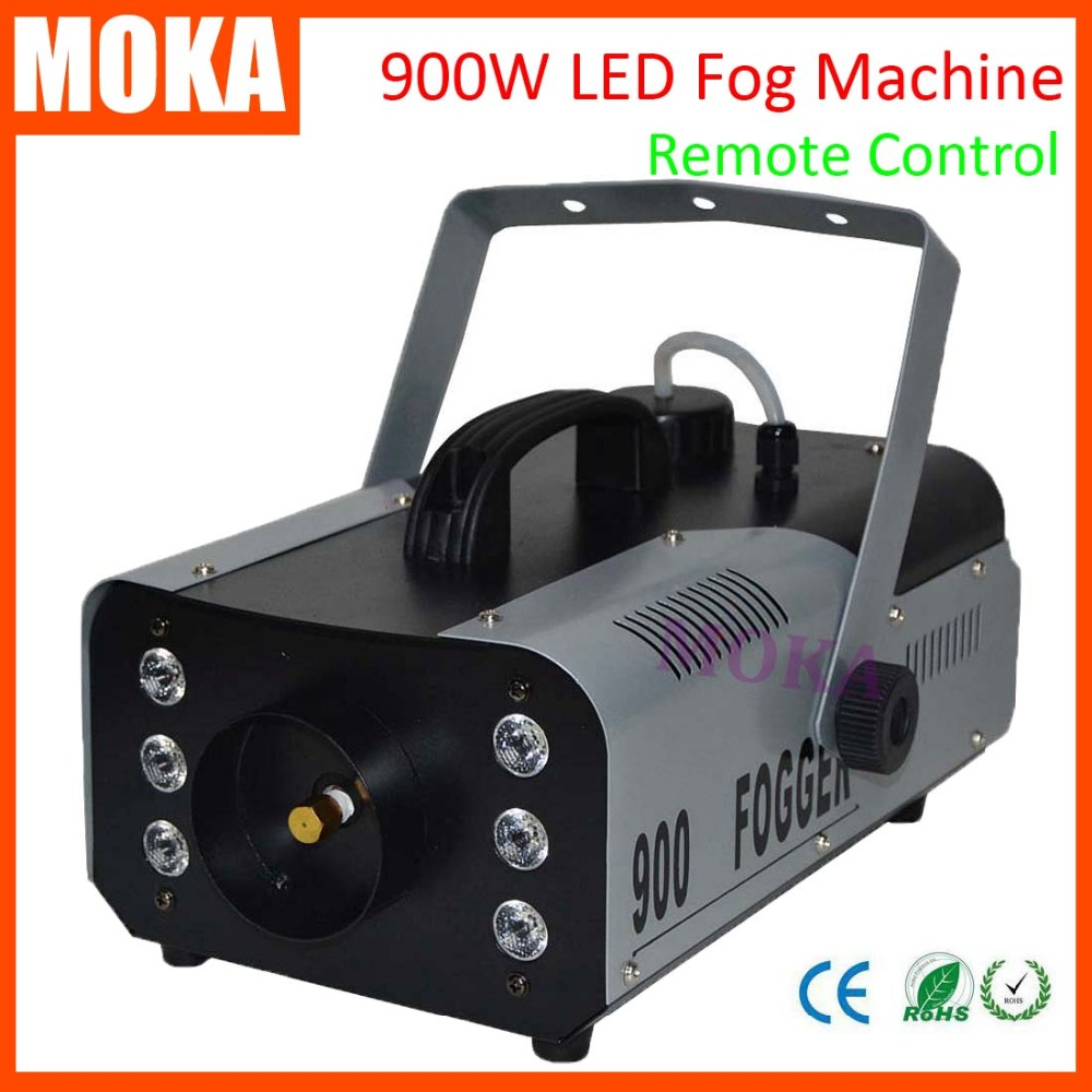 1 pcs/lot high quality LED 900W Fog Machine Mini 900w RGB LED Smoke Machine Stage Special Effects dj equipment 4x lot dropshiping 400w mini smoke machine fog machine special effects for stage light party events 90 240v