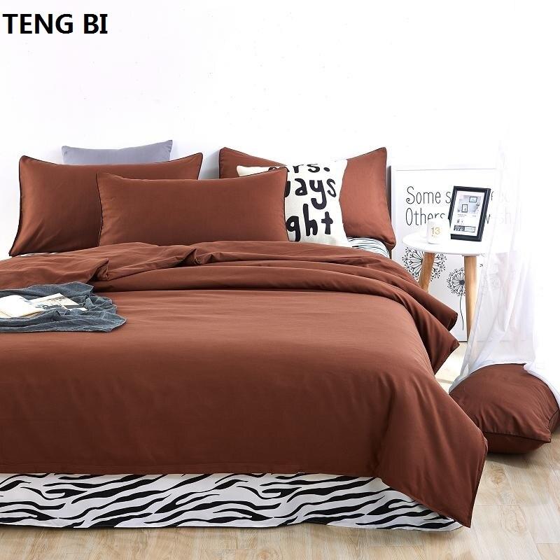 effen kleuren en zebrapatroon King / Queen / Full / Twin 6size 3/4 - Thuis textiel