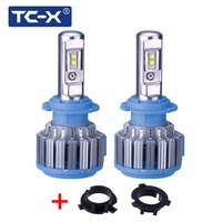 All In One Auto Car Headlights H7 LED Conversion Kits With Adapter For HYUNDAI Veloster Coupe