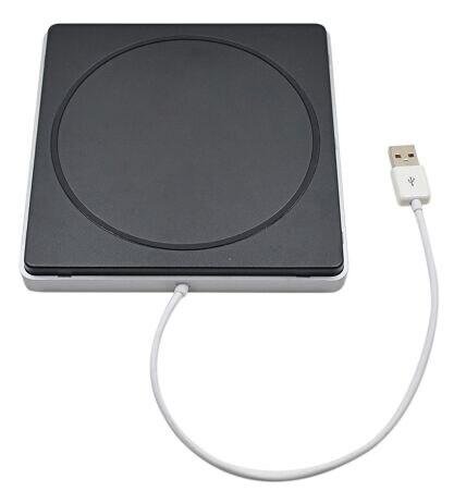 Vente chaude pour Macbook Externe USB 2.0 Boîtier Caddy Cas Slot dans 9.5mm 12.7mm SATA Superdrive Lecteur Optique Optibay Caddy