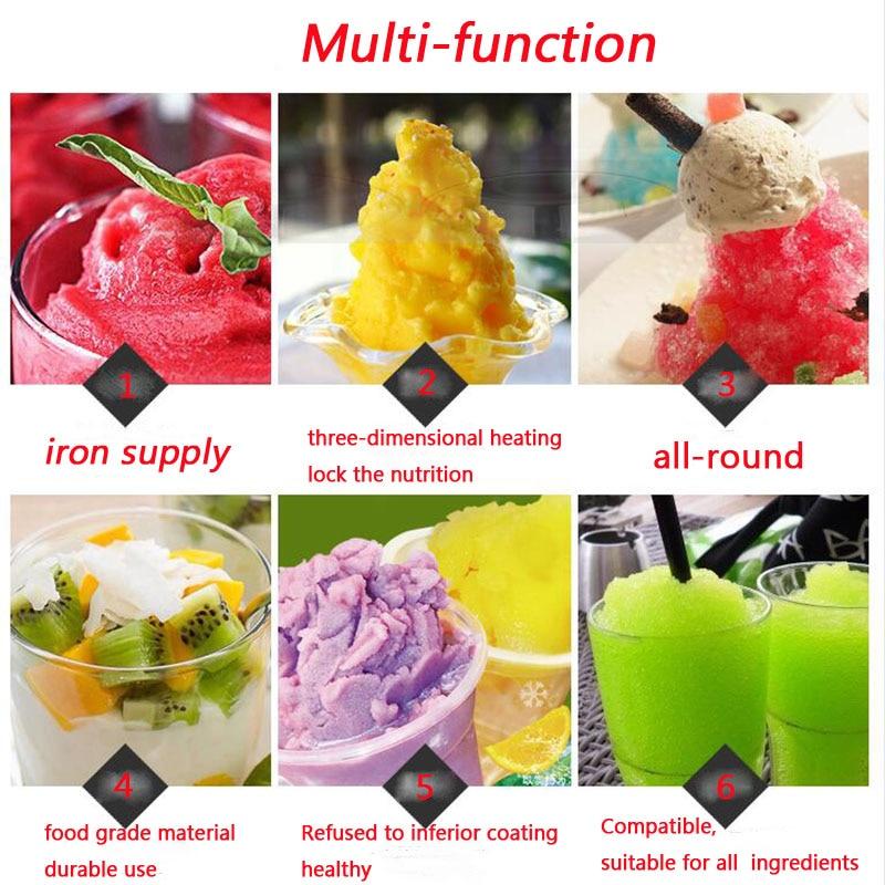 Macchina per gelato in acciaio inossidabile pieno Una padella per - Macchine utensili e accessori - Fotografia 6