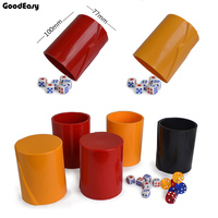 High Quality KTV Bar Plastic Colorful Gambling Casino Beer Bottle Pattern ABS Plastic Dice Cup With