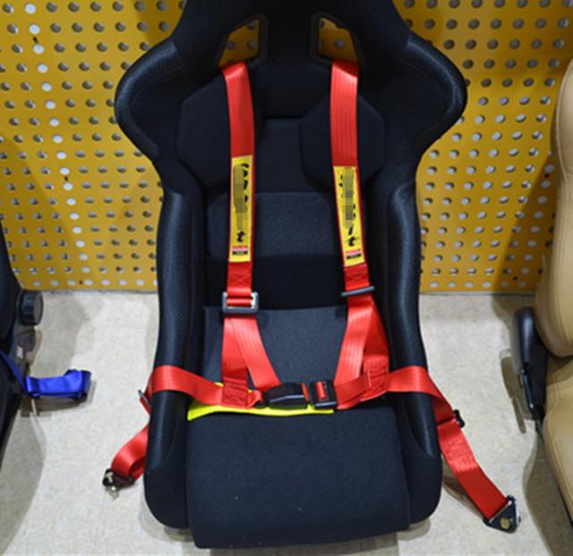 2015 hot new Universal del cinturón de seguridad de carreras 2 pulgadas de buena calidad del cinturón