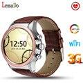 2017 Новый Lemado Y3 Bluetooth Smartwatch Android 5.1 OS поддержка wifi 3 Г различные приложения и набирает fashional наручные часы
