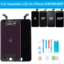 LCD Touch Screen for iPhone 6 6S AAA+ Quality Display Digitizer Assembly Screen Replacement for iPhone 6 6S Plus + Repair Tools new good quality for iphone 6s lcd display and touch screen digitizer replacement assembly black