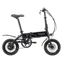 New Folding Electric Bicycle 36V 10.4Ah Lithium Battery Electric Mountain Bike Frame Inner Removable Battery Relased Ebike