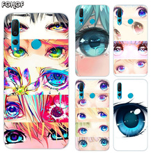 Charming Beautiful Eyes Soft Hull Shell Case For Huawei Nova 2 Plus 2S 3 3i 4 TPU Printed Pattern Riverdale Cover