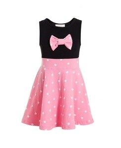Minnie Tutu Dress baby Minnie Tutu First Birthday Dress Pink Polka Dots dress 1st 2nd 3rd Birthday Minnie Pink Inspired dress(China)