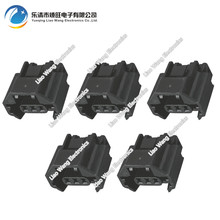 5 Sets 3 Pin Oxygen Sensor Connector Waterproof Plastic Connector With Terminal Plug DJ70319Z-1.2-21 3P