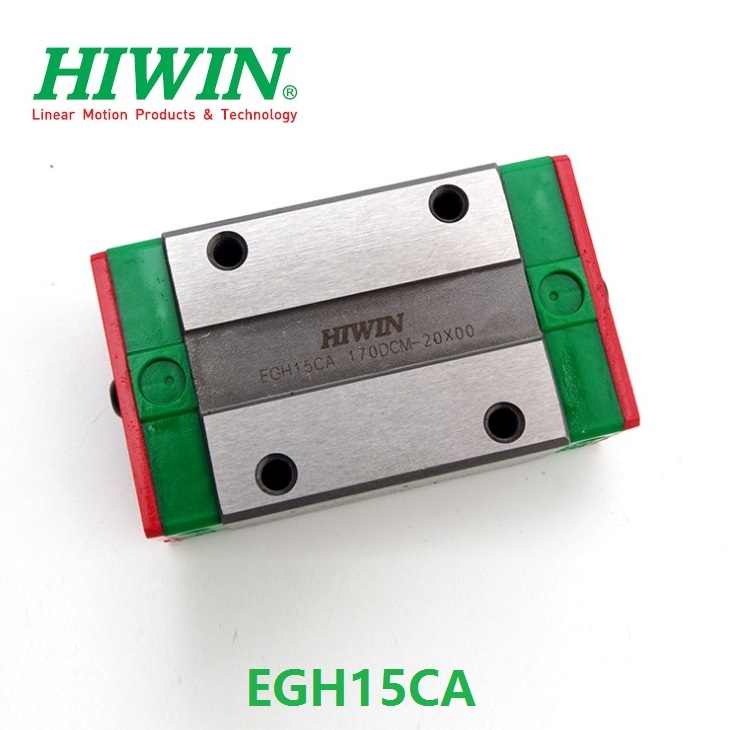 10pcs lot 100 original HIWIN EGH15CA slider block for EGR15 linear guide rail for CNC router