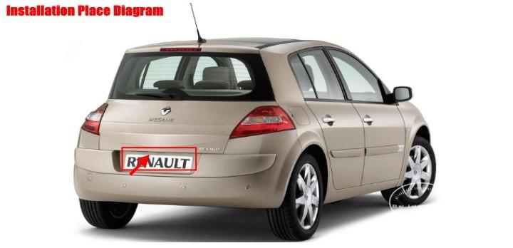 Renault-Megane-I-2006-license-plate-lamp