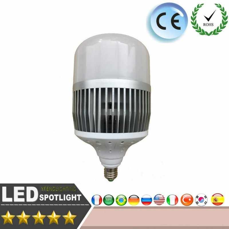 LED E27 E40 30W 50W 80W 100W 150W Led Bulbs AC175-265V Base Led Light Bulb SMD 3535 Aluminium Plate Ampolletas Led Lamp