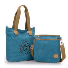 New Casual Women Shoulder Bags Messenger Bag Fashion Designer Handbag Canvas Composite Bag Women Totes