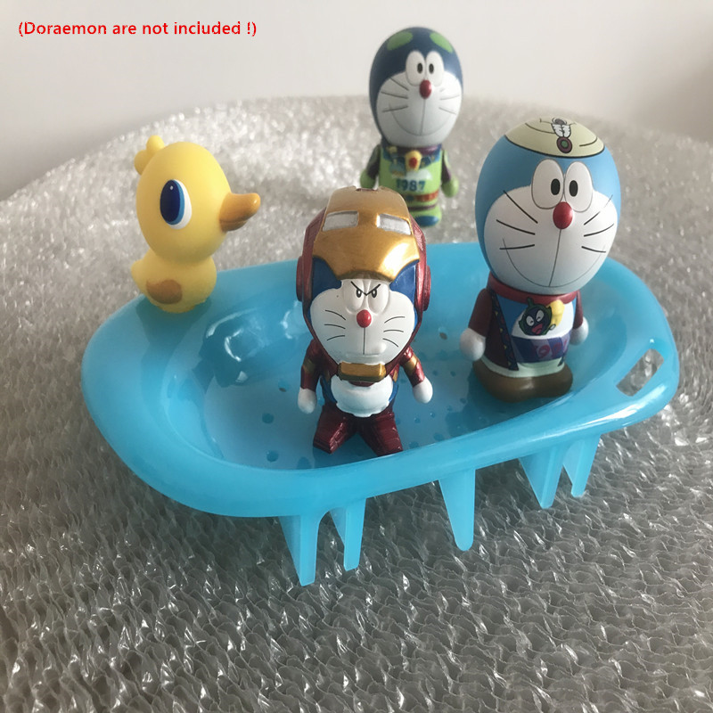 1PCS Cute Duck Plastic Home Travel Soap Dishes Plate Soap Holder Soapbox  Tray Soap Container Bathroom