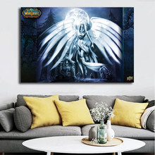 World Of Warcrafts Spirit Healer Canvas Posters Prints Wall Art Painting Decorative Picture Modern Home Decoration Accessories