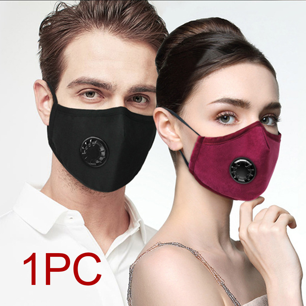 Image 5 - Breathing Dust Mask for Men and Women Anti fog Dust PM 2.5 Pollen Breathable Valve Mask Reusable Activated Carbon Air Filter-in Particle Respirators from Security & Protection