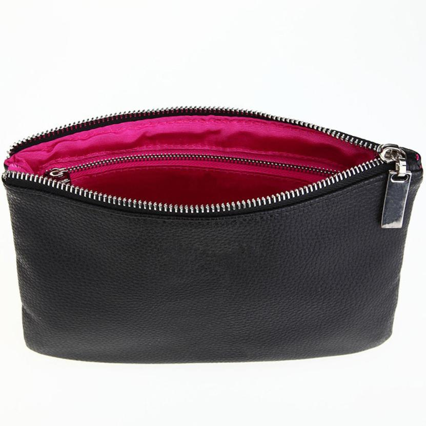 Women Makeup Bag necessaire PU Leather s