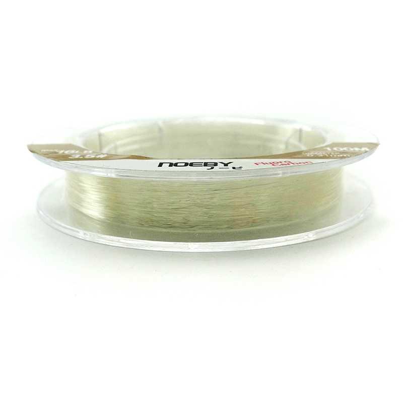 NOEBY 100m 150m 0.8 #-8.0 # nie takie żyłki wędkarskie fluorowęglowe 4-32lb przeciągnij Monofilament De Pesca Peche drut wędkarski z włókna węglowego