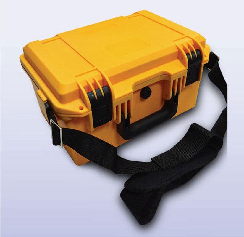 Internal 330*210*135mm hard plastic waterproof camera case tool box with foam