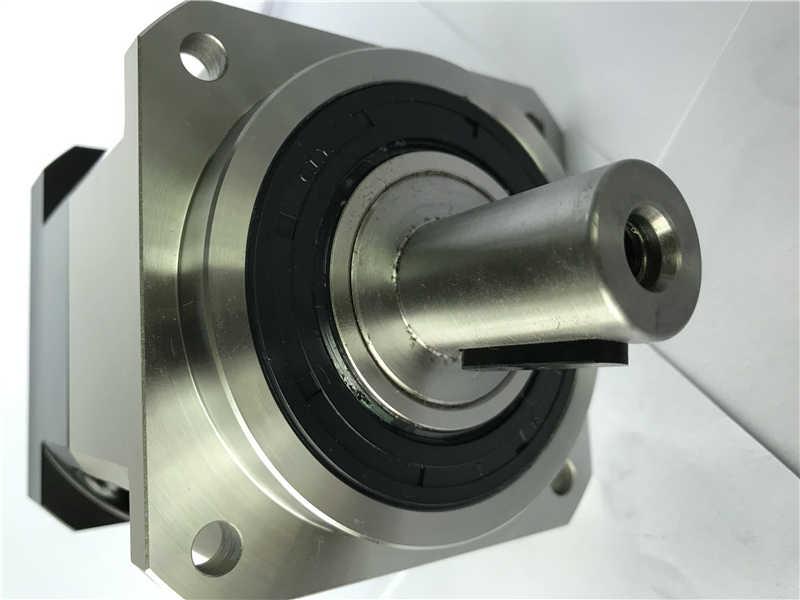 5 Acrmin Presisi Tinggi Helical Gear Planetary Reducer Gearbox 10:1 untuk 80 Mm 750W AC Servo Motor Poros Input 19 Mm AB090-10-S2-P2