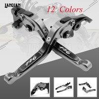 For YAMAHA FZ6 600 FAZER S2 2004 2010 FZ6R 2009 2015 CNC Motorcycle Accessories Adjustable Folding