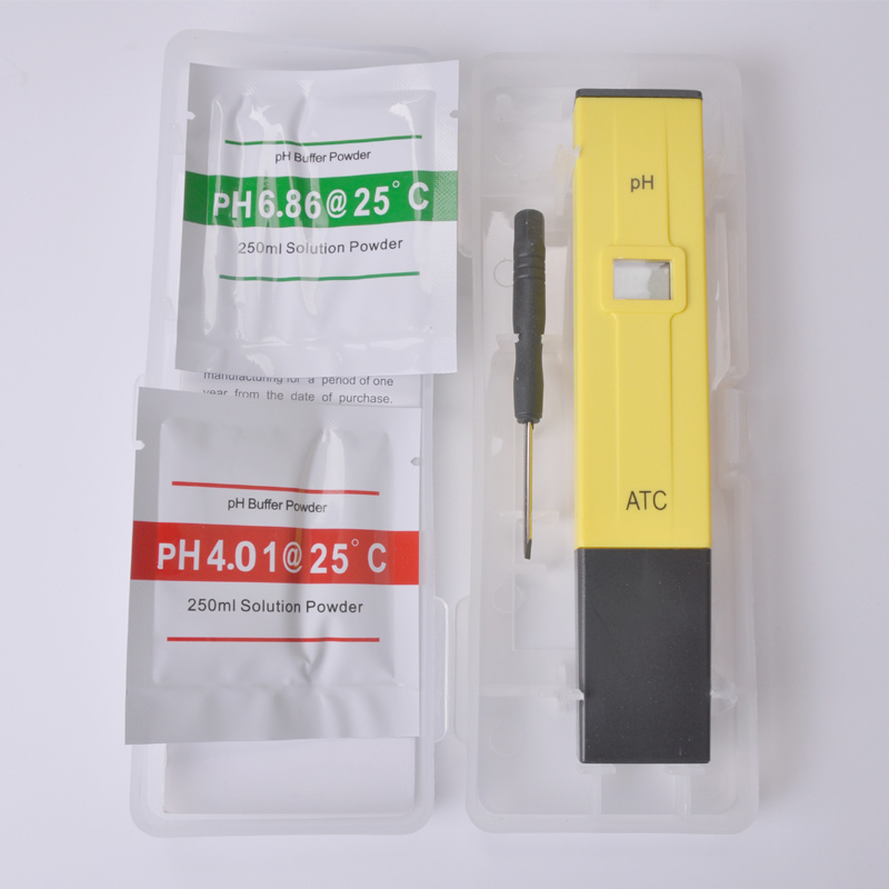 Free shipping, home electronic pH value test pen, 0.01 precision measuring pen, household water quality detecting pen  цены