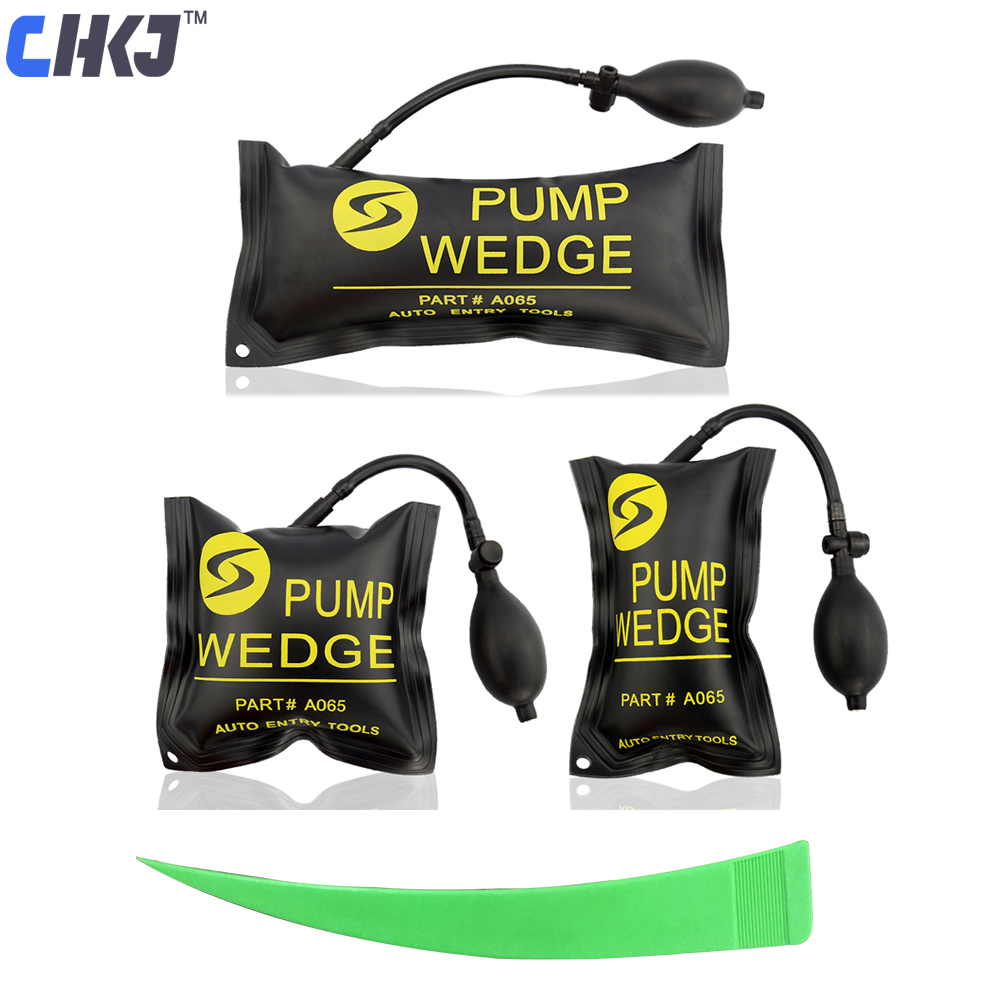 CHKJ Pump Wedge Locksmith Tools Auto Air Wedge Airbag Lock Pick Set Professional Open Car Door Lock Window Opening Ferramentas