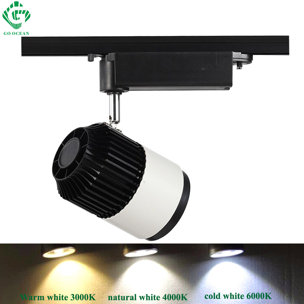 Go ocean track lighting spot rail shoe wall dimmable track light go ocean track lighting spot rail shoe wall dimmable track light tracks light pendant clothes shop led tracks lights in track lighting from lights aloadofball Choice Image